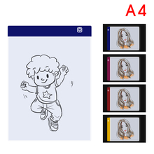 A4 LED Graphic Tablet Light Box Tracer Digital Tablet Writing Painting Drawing Ultra-thin Tracing Copy Pad Board Artcraft Sketch стоимость