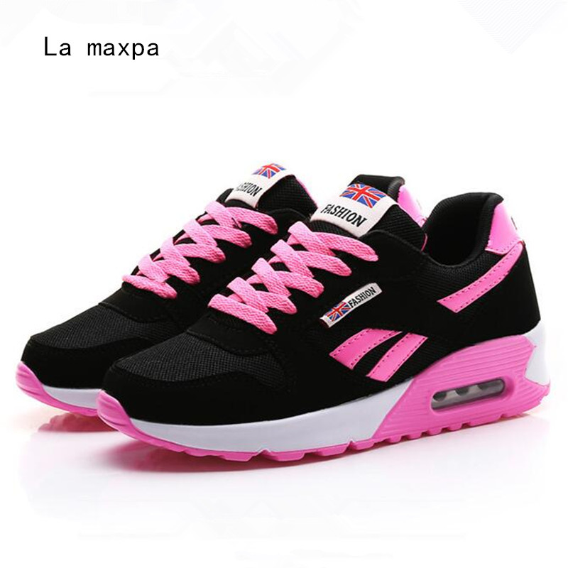 2018 Hot Sale Running shoes Women sneakers woman sport shoes Air Mesh Breathable sneakers for girls Walking Jogging Trainers n