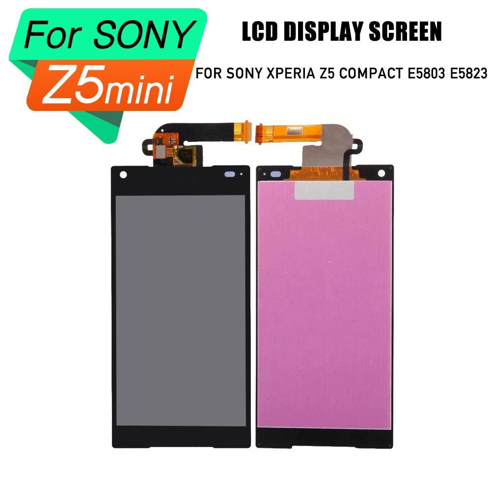 Remplacement écran LCD pour Sony Xperia Z5 écran d'affichage Compact pour Sony Xperia Z5 MINI E5803 E5823