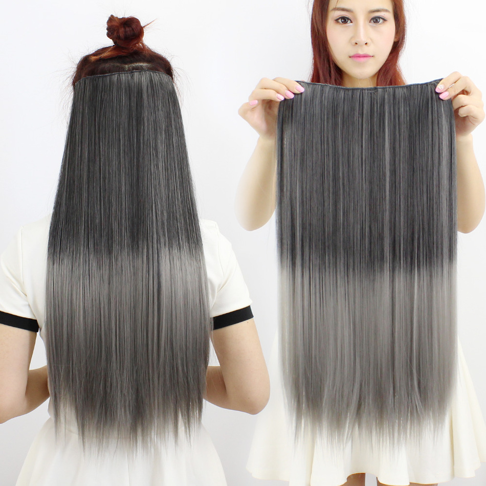 A Of Type Wig Colour Highlights New Woman Gradual Change Simulation