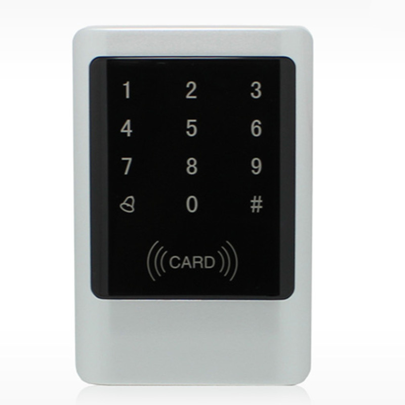 1000User Metal Water-Proof Touch Keypad ID Card Password Door Access Control System metal rfid em card reader ip68 waterproof metal standalone door lock access control system with keypad 2000 card users capacity