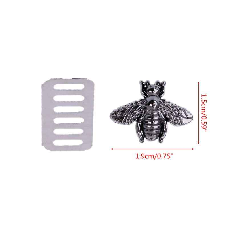 1 Pc métal abeille sac décoration matériel pour bricolage sac à main artisanat Messenger sac à bandoulière en métal serrure