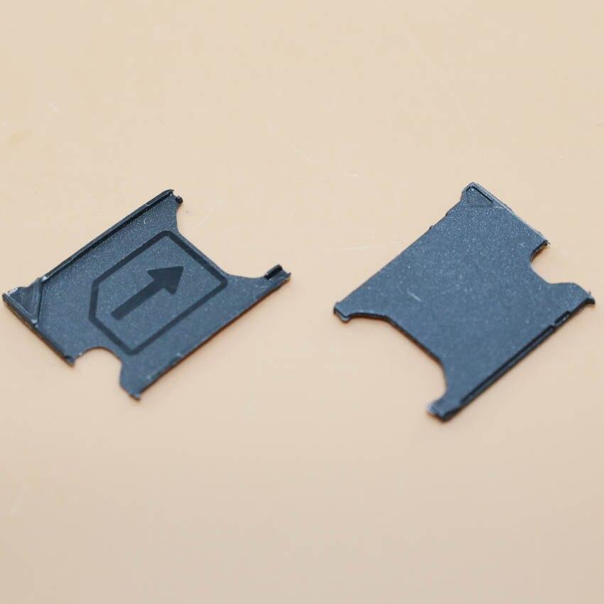 YuXi 20pcs/lot new Sim Card Tray Slot Holder For Sony Xperia Z1 L39H C6903 Sim Card Holder repair