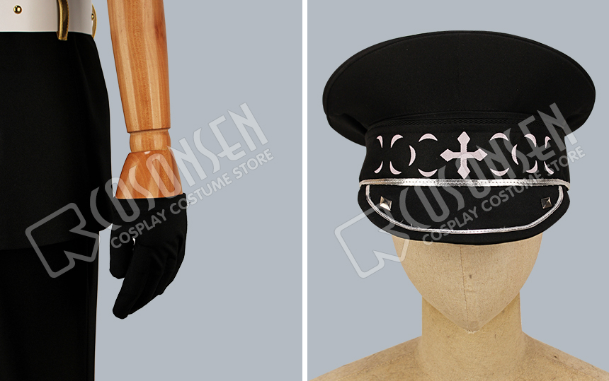 Oogami Koga Otogari Adonis Ensemble Stars UNDEAD vol.6 Cosplay Costume COSPLAYONSEN full set with Hat