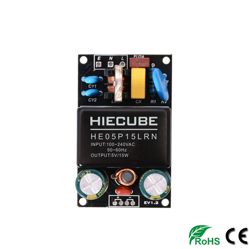 <font><b>220V</b></font> <font><b>to</b></font> 5V 9V <font><b>12V</b></font> 15V 24V 36V 24W AC-DC power supply <font><b>module</b></font> transformer <font><b>module</b></font> Switching Power Supply EMC filter Free shipping image