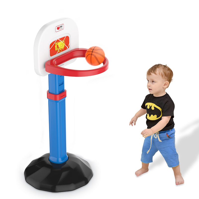 Babyfond childrens basketball frame can be raised and lowered baby ball baby outdoor boy toys home 3-10 years old baby