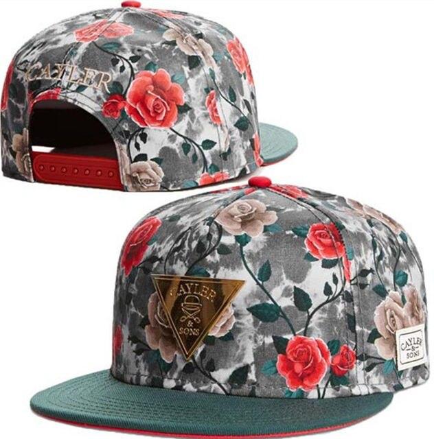 gorras planas para mujer de flores 850b08e9836