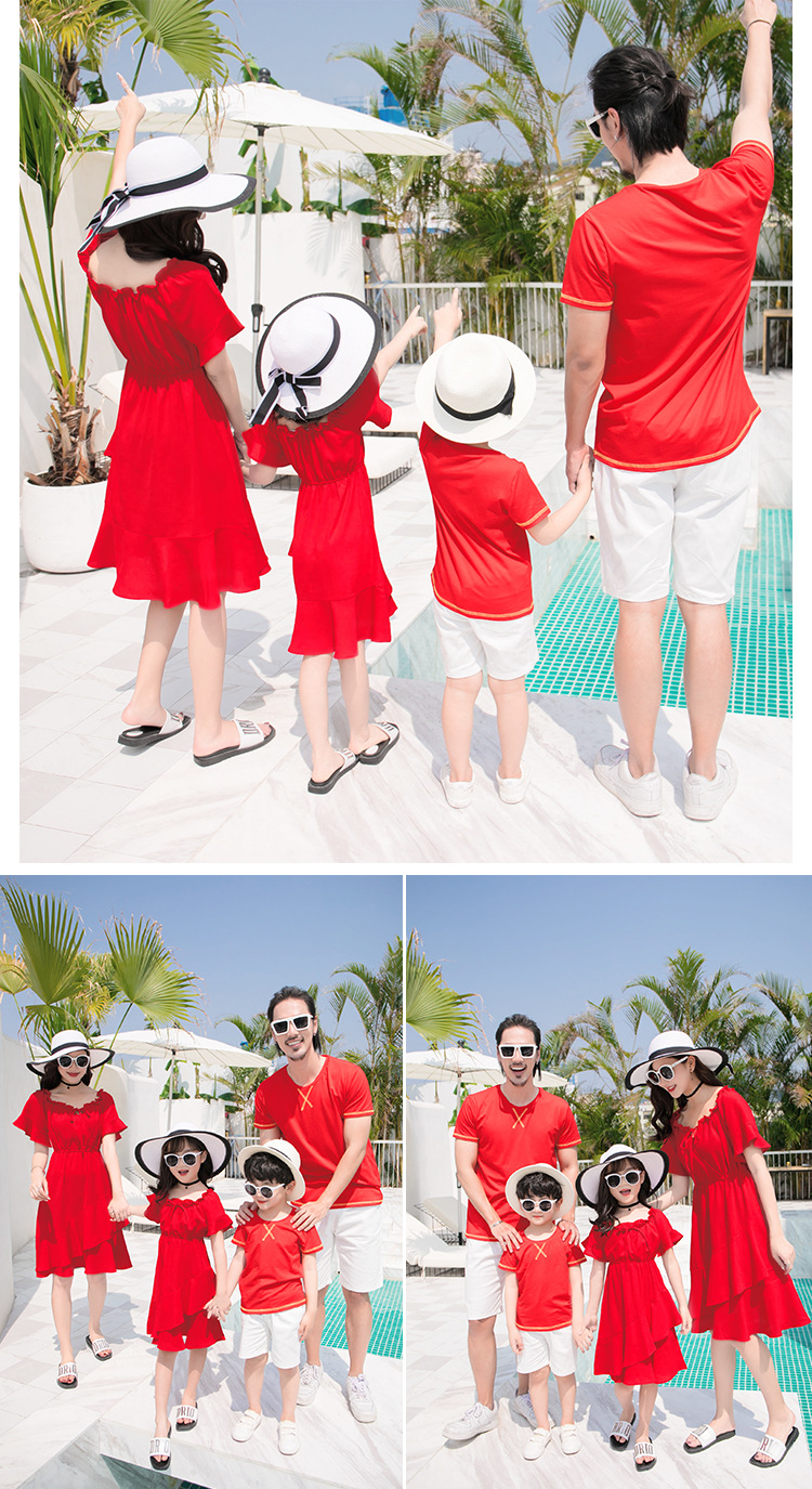 Family matching clothes |Beach dress, Tshirt
