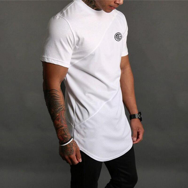 HTB10fMpfhTI8KJjSspiq6zM4FXaG - Brand Mens muscle T shirt bodybuilding fitness men tops cotton singlets Plus Big size TShirt Cotton Mesh Short Sleeve Tshirt