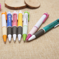 DHL Fast 1000pcs Lot Including 1 Colour Logoadvertising Pen Wholesale Printed LOGO Custom Promotional Pen Advertising