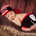 Newborn Baby Photo Props Boys Girls Cute Handmade Crochet Knit Pirate Costume Baby Photo Photography Outfits