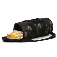 Multifunction Camouflage Sports Gym Bags Fitness Training Yoga Bags with Shoes Storage Packet Net bag Camouflage sac de sport