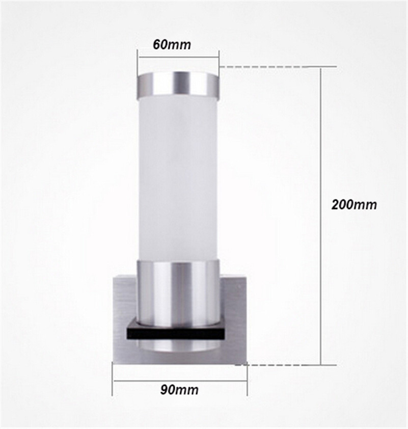 HTB10fNXSpXXXXcMXXXXq6xXFXXXF - 1W Led wall lamp Acrylic light Epistar chip with led driver for home/KTV/bar indoor light CE free shipping