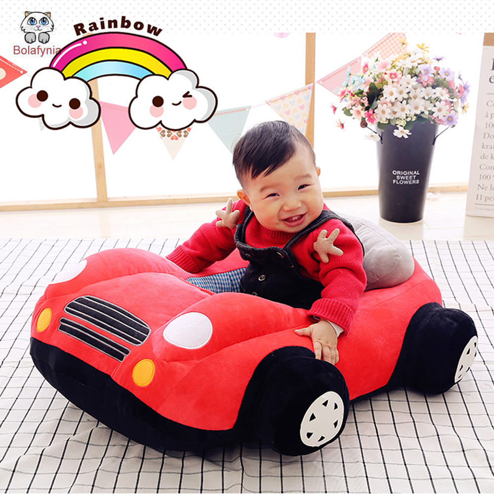 BOLAFYNIA Children car Chair Plush Toy Baby Kids Stuffed Toy for Christmas Birthday Gift BIG Chair car baby birthday gift balanced car toddler children toy scooter driving walk