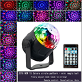 15 цветов маленький магический шар светодиодный сценический свет диско хрустальный магический шар цветные огни Лазерный свет 2019 partito prestazioni