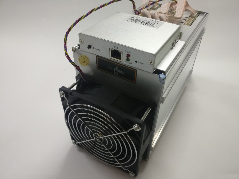 YUNHUI DASH MINER ANTMINER D3 17GH/s 1200W on wall (no power supply) BITMAIN  X11 dash mining machine can miner BTC on nicehash spot goods antminer s5 1155 gh s asic miner bitcon miner 28nm btc mining sha 256 miner power consumption 590w