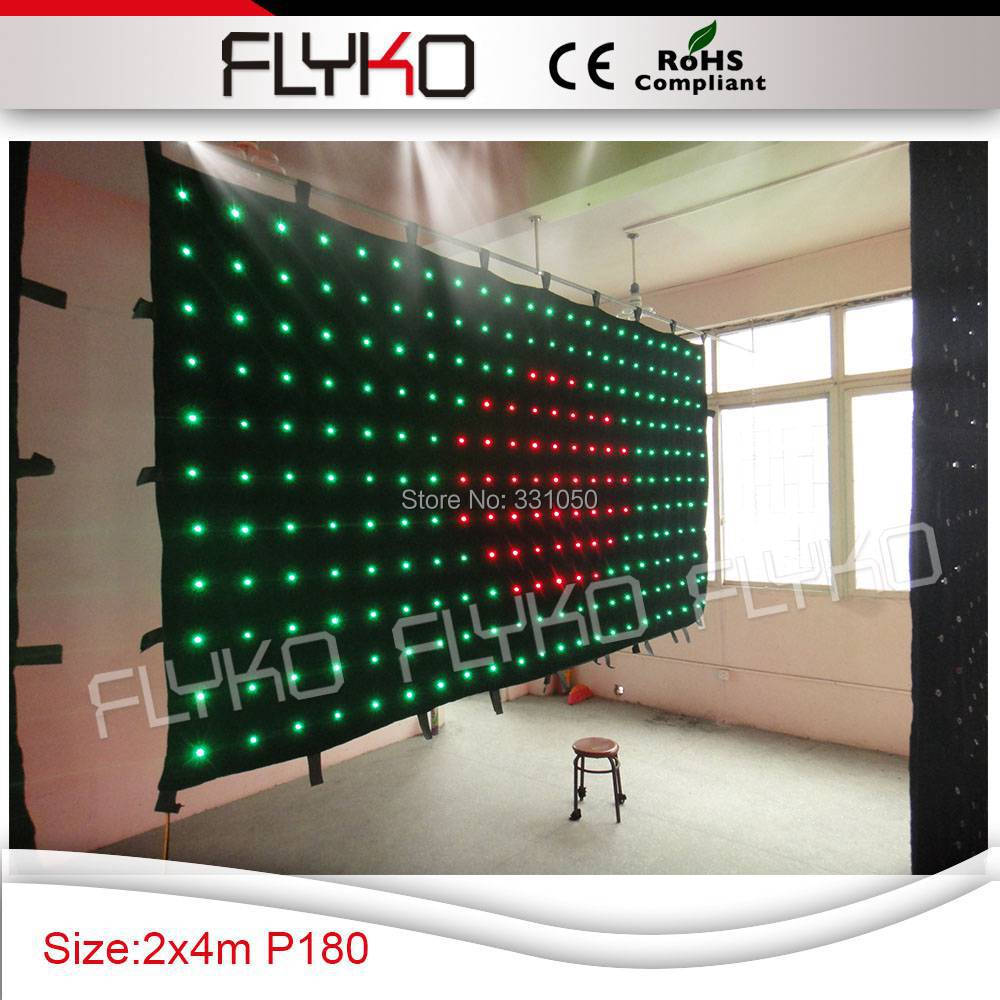 p18 4x2m full color stage led screen for concert