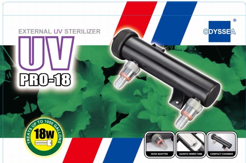 ODYSSEA Wholesale UV Sterilizer 18W Aquarium Fish Pond Tank Lamp+High sterilization ability with 18W UV Light Sterilizer UV Lamp