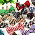 SHENNAIWEI alta qualidade da moda 2016 homens casuais de Algodão bow tie bowtie Gravata borboleta gravata Xadrez bowties dos homens para o homem lote