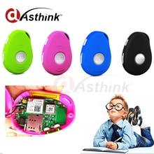 Mini GSM Tracker GPS para Niños Ancianos Pista Botón SOS Personal con Dos vías de Comunicación Plataforma Libre APP Alarma