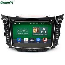 Восьмиядерный 7 «HD 1024*600 2 ГБ Оперативная память Android 6.0.1 dvd-плеер Радио GPS для Hyundai i30 2011 2012 2013 2014 2015 навигации ПК