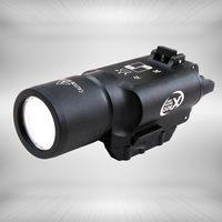 戦術ledピストルm4ライフル懐中電灯x300ランテルナ超白色光500ルーメン狩猟射撃