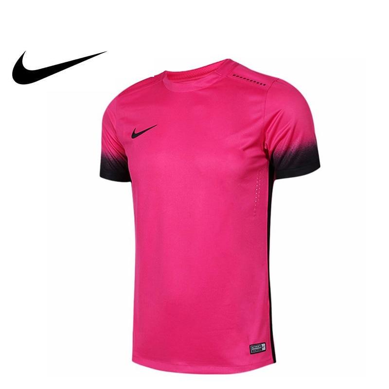 Original nouveauté officiel NIKE Football/Football hommes T-shirts à manches courtes vêtements de sport Polyester respirant tricoté 742706