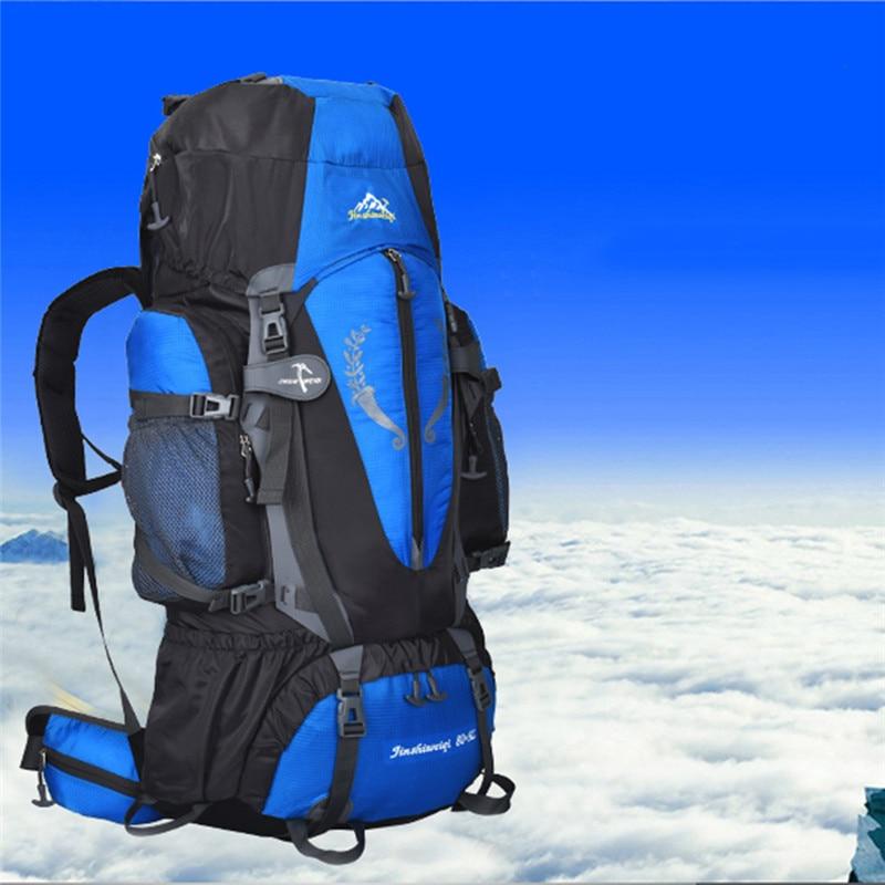 Multi-purpose Large Backpack 80+5L Waterproof Bag Multi-purpose Backpacks for Outdoor Hiking Camping Climbing Skiing Travel Bags цена и фото
