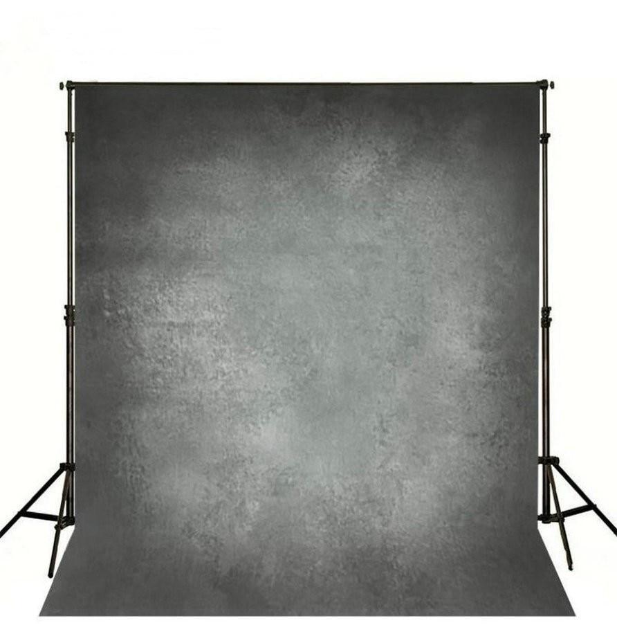 Dark Gray Grey photo studio background Vinyl cloth High quality Computer Print wedding photo backdrop