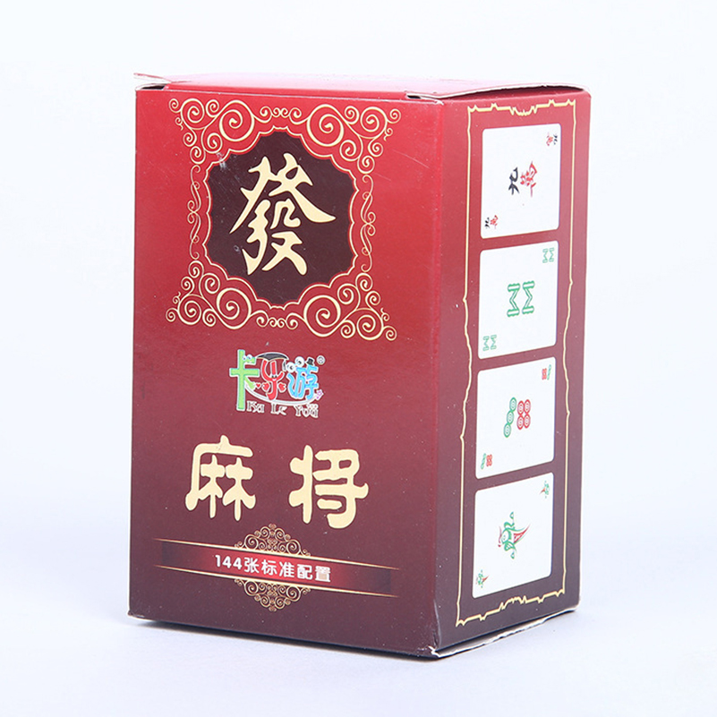 žCloseout DealsCards-Toy Mahjong-Cards Game-Collection Traditional for Party-Play 144pcs Funny Chinese