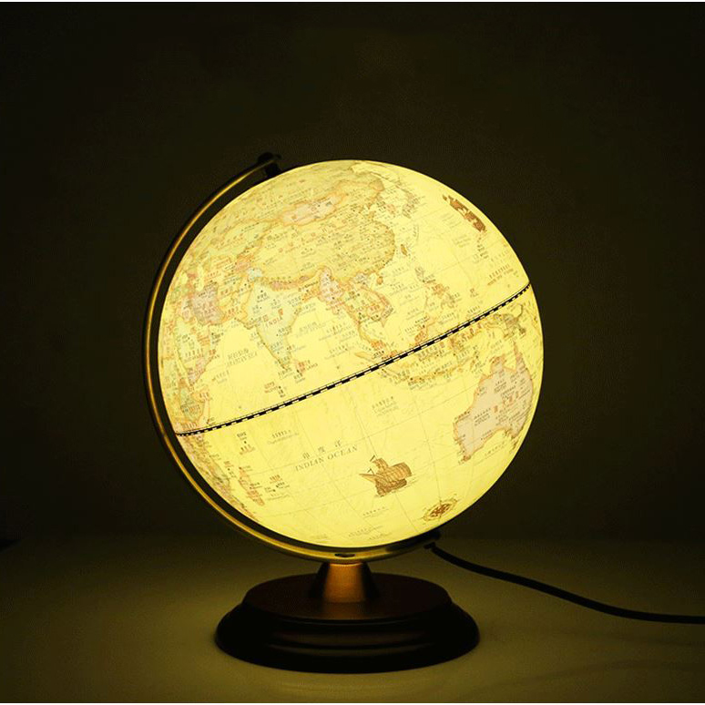 Table lamp bedside lamp globe table light led decorative desk lamp table lamp bedside lamp globe table light led decorative desk lamp retro style bedroom study lights in table lamps from lights lighting on aliexpress aloadofball Image collections