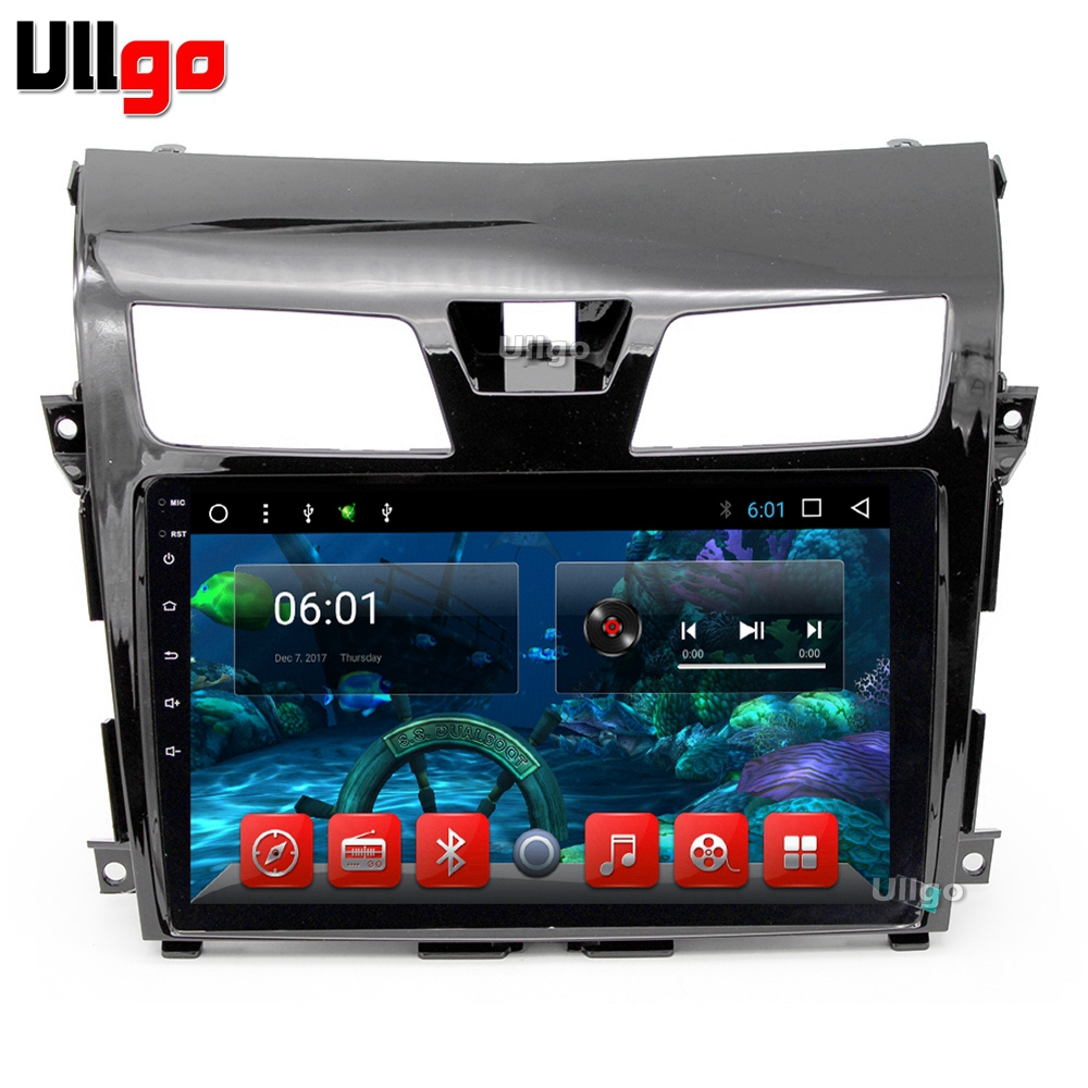 10.1 inch Octa Core Android 7.1 Car DVD GPS for Nissan Altima Teana Car Stereo Autoradio GPS with BT RDS WIFI Mirror link