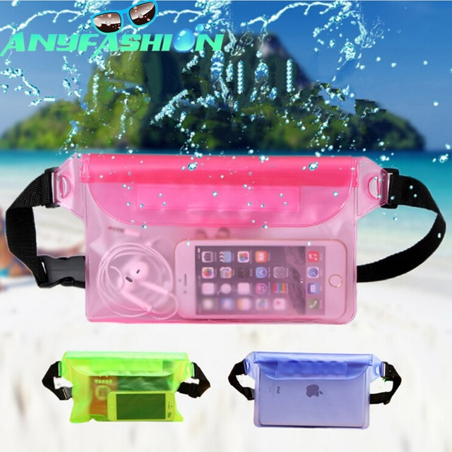 Waterproof Pouch With Waist Strap Keep Your Phone And Valuables Safe Dry For