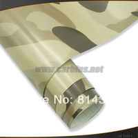 Camouflage car wrap, camouflage car color changing film air bubble free quality 1.52*30m size