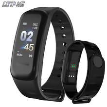 COXANG C1S Wearfit Smart Bracelet Watch Blood Pressure Measurement Heart Rate Monitor Cardiaco Fitness Tracker Smart Wristband
