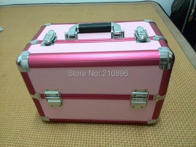 Boîte Aluminium Nouvelle Top Beauté En Maquillage Gratuite Livraison La Vanité De 2014 Qualité Cas gn601Hxwq4