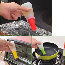 Portable Silicone Oil Bottle Brush Kitchen Honey Barbecue Tool Gadgets