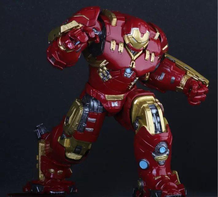 Pazzo Giocattoli Marvel Avengers Hulkbuster 25 cm Ironman Super Hero PVC Action Figure Da Collezione Modello Giocattoli il film di james cameron avatar 2 navi neytiri pazzo giocattoli action figure statua 13 anime figure da collezione modello