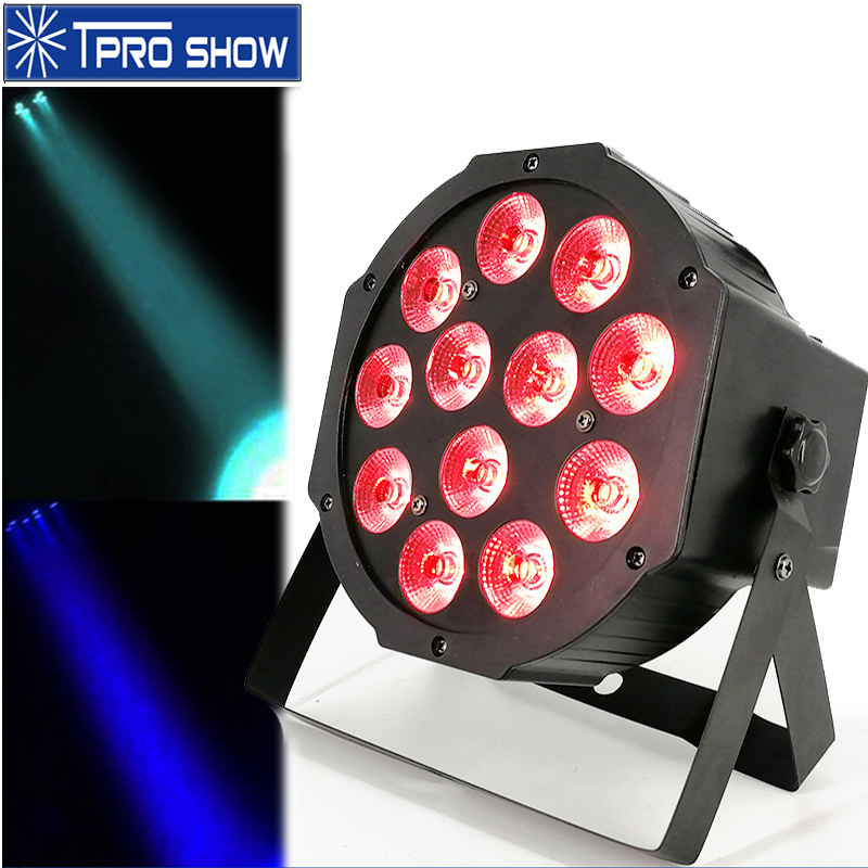 <font><b>Par</b></font> <font><b>LED</b></font> RGBW Dmx <font><b>12x12W</b></font> Wash <font><b>LED</b></font> <font><b>PAR</b></font> Disco Light Sound Party Lights 12x3W Mini Disco Ball Lights For Party Disco DJ Stage Home image