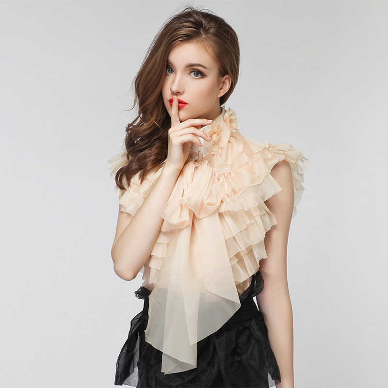 Sleeveless Blouse Ladies 2018 Runway Brand New Fashion Designer Top Women S Cascading Ruffles Bow Tank Top Blouse High Quality Aliexpress
