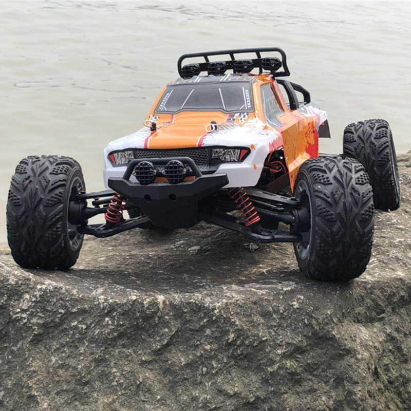 New Arrival 1:12 Scale Large RC Car 2.4G 4WD RTR 45KM/H High Speed RC Drift Car Off-Road Remote Control Buggy With LED Lights hongnor ofna x3e rtr 1 8 scale rc dune buggy cars electric off road w tenshock motor free shipping