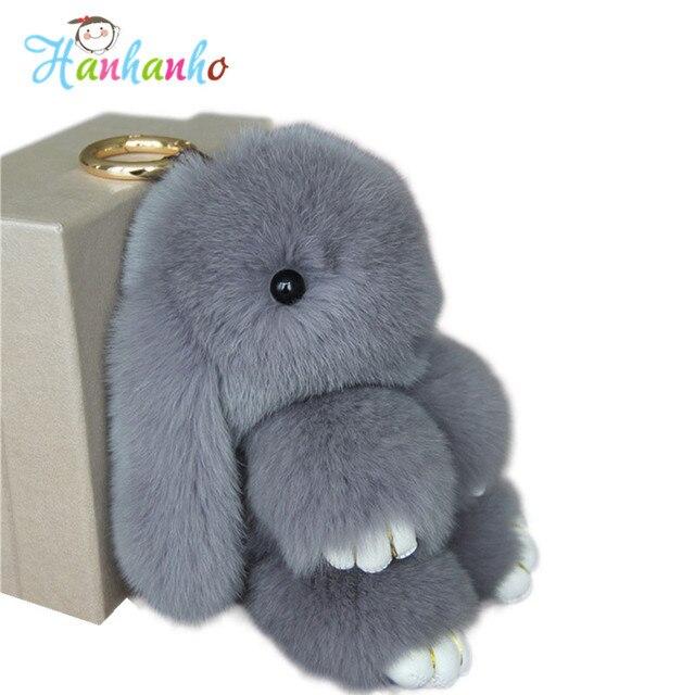 Пушистый кролик игрушка