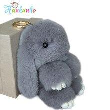 18cm Super Cute Fluffy Bunny Bag Pendant Lovely Play Dead Rabbit Animal Toy Keychain Car Decor