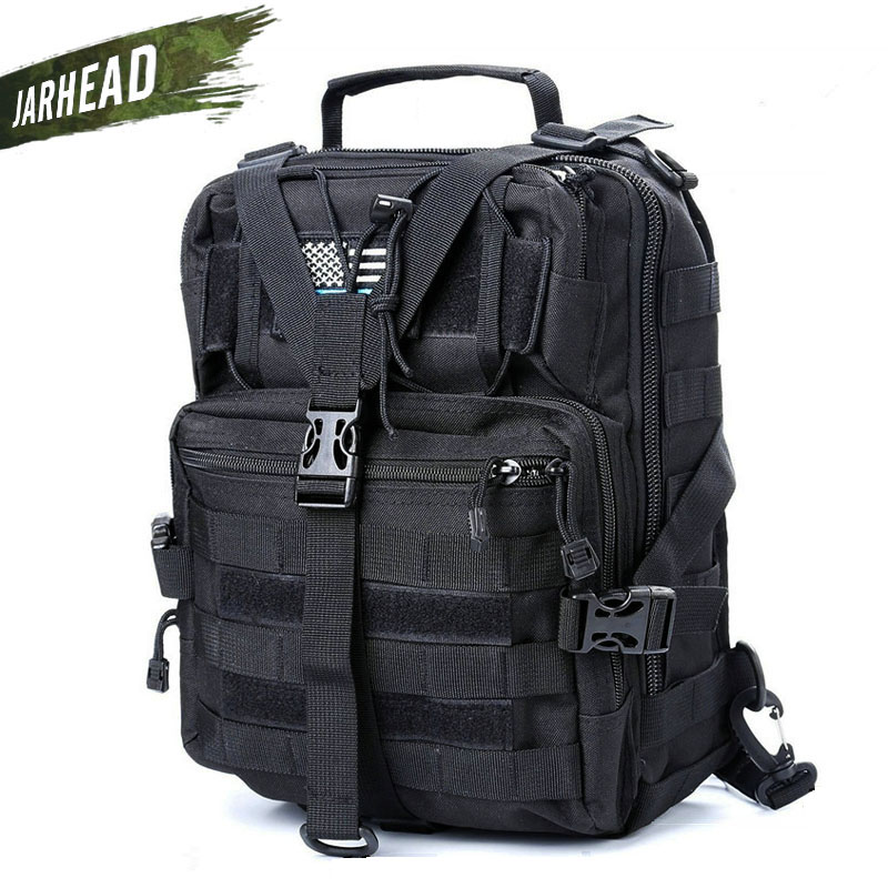 Military Tactical Assault Pack Sling <font><b>Backpack</b></font> Army Molle Waterproof EDC Rucksack Bag for Outdoor <font><b>Hiking</b></font> Camping Hunting <font><b>20L</b></font> image