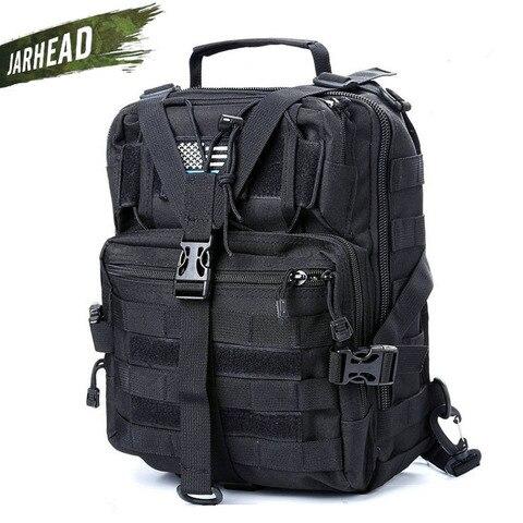 pacote de assalto tatico militar sling mochila do exercito molle a prova dwaterproof agua edc