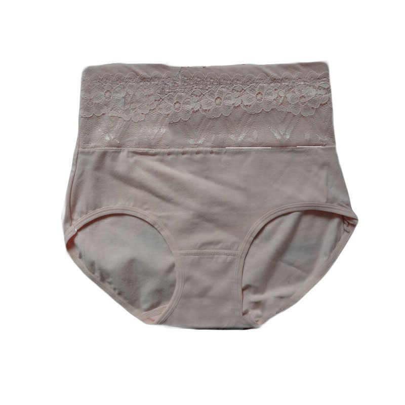 155c68b443 ... Lace Applique Cotton Big Yards Women s Underwear High Waist And Abdomen  Women s Panties calzones mujer de ...