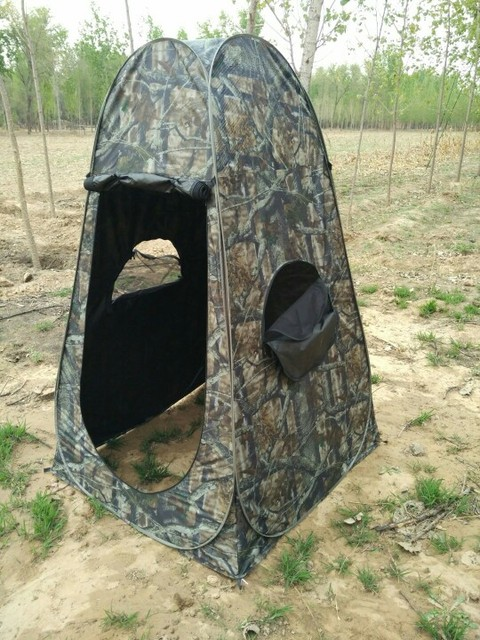 High Quality Automatic Pop Up Single Person Camouflage Dressing Bath Fishing Photography Bird Watching Bird Tent & High Quality Automatic Pop Up Single Person Camouflage Dressing ...