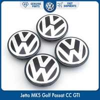 4 pz/set OEM 63 millimetri Centro di Rotella Cap Logo Hub Copertura Dell'emblema del Distintivo per il VW Volkswagen Jetta MK5 Golf Passat 3B7 601 171