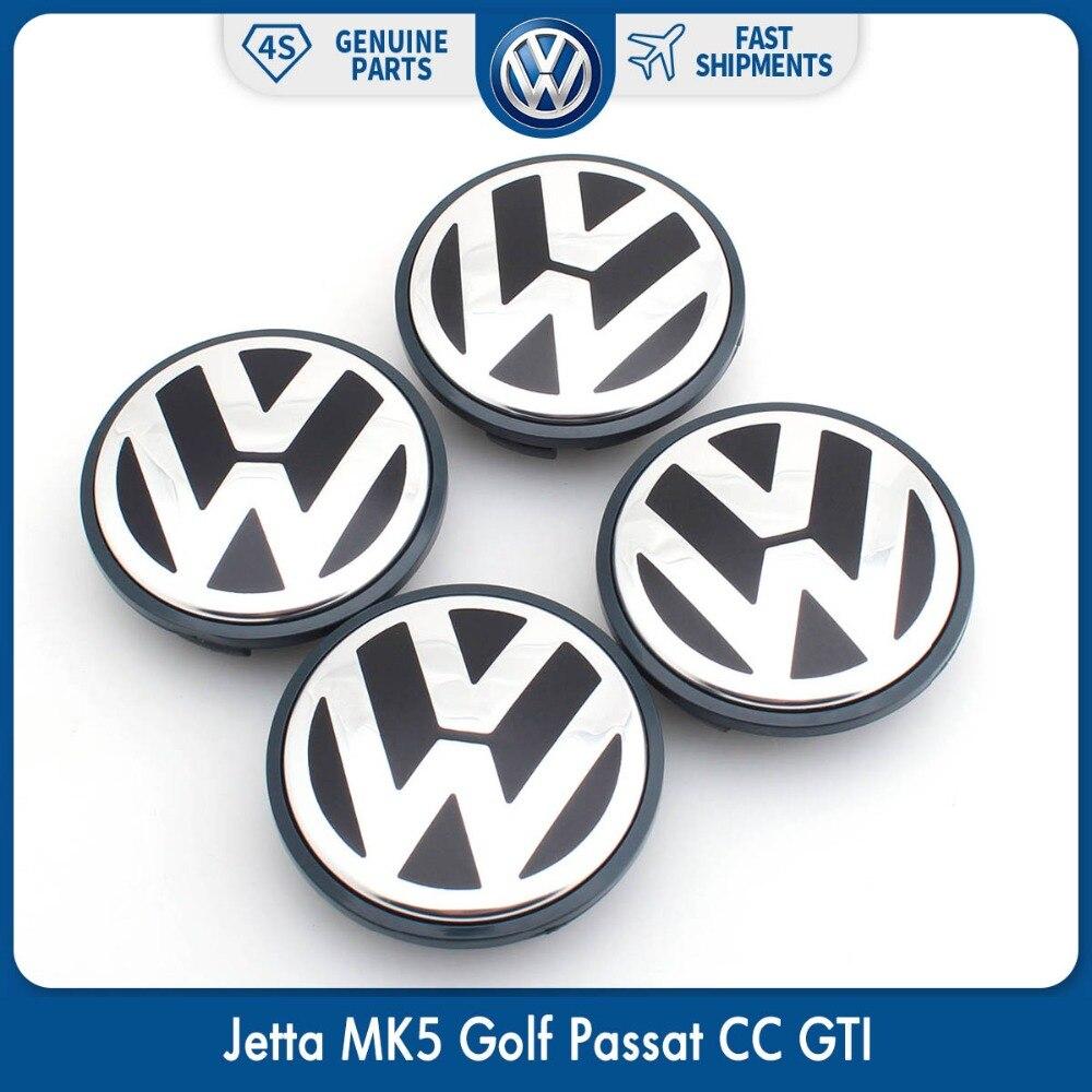 4 шт./компл. OEM 65 мм центра колеса Кепки логотип центром эмблема значок для VW Jetta MK5 Гольф Passat