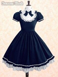 Arco Corta Encaje Manga Para Nueva Vestir Volantes Lolita Japonesa Blanco Trajes Marca De xwq11aXf